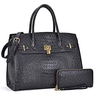 15eeaa2ff2c Amazon.com: DASEIN Women's Purses and Handbags Shoulder Bags Ladies ...