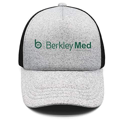 hable Adjustable Mesh Grey Unisex Green-Berkley-Fishing-Logo-Dad Hat Caps ()