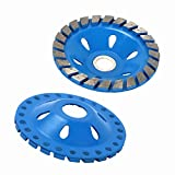 4 Inch 24 Tooth Diamond Segment Grinding Wheel Cup Disc Bowl Shape Grinder Cutting Tools for Use On Grinding On Marble, Tile, Hard Material 100x20x10mm