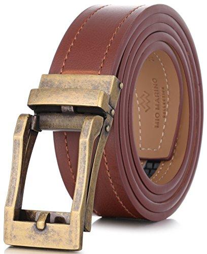 (Marino Avenue Genuine Leather belt for Men, 1.3/8