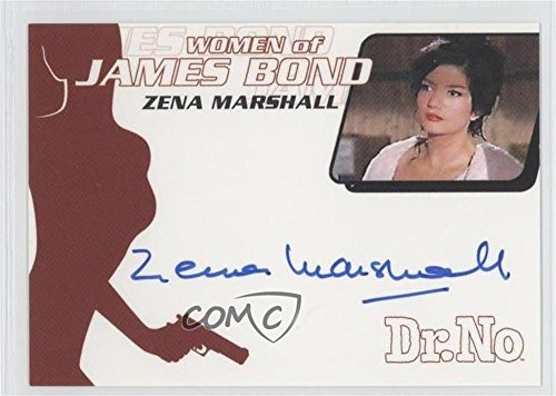 Zena Marshall; Let slip by Taro (Trading Card) 2003 Rittenhouse James Bond: Women of James Bond in Motion - Women of James Ties Autographs #WA6
