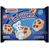 Sweet Baked Goods Bimbunuelos 2.3 Oz Packs Bimbo Crispy Wheels [Pack of 3]