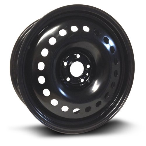 RTX, Steel Rim, New Aftermarket Wheel, 18X7.5, 5X110, 65.1, 40, black finish X48510 ()
