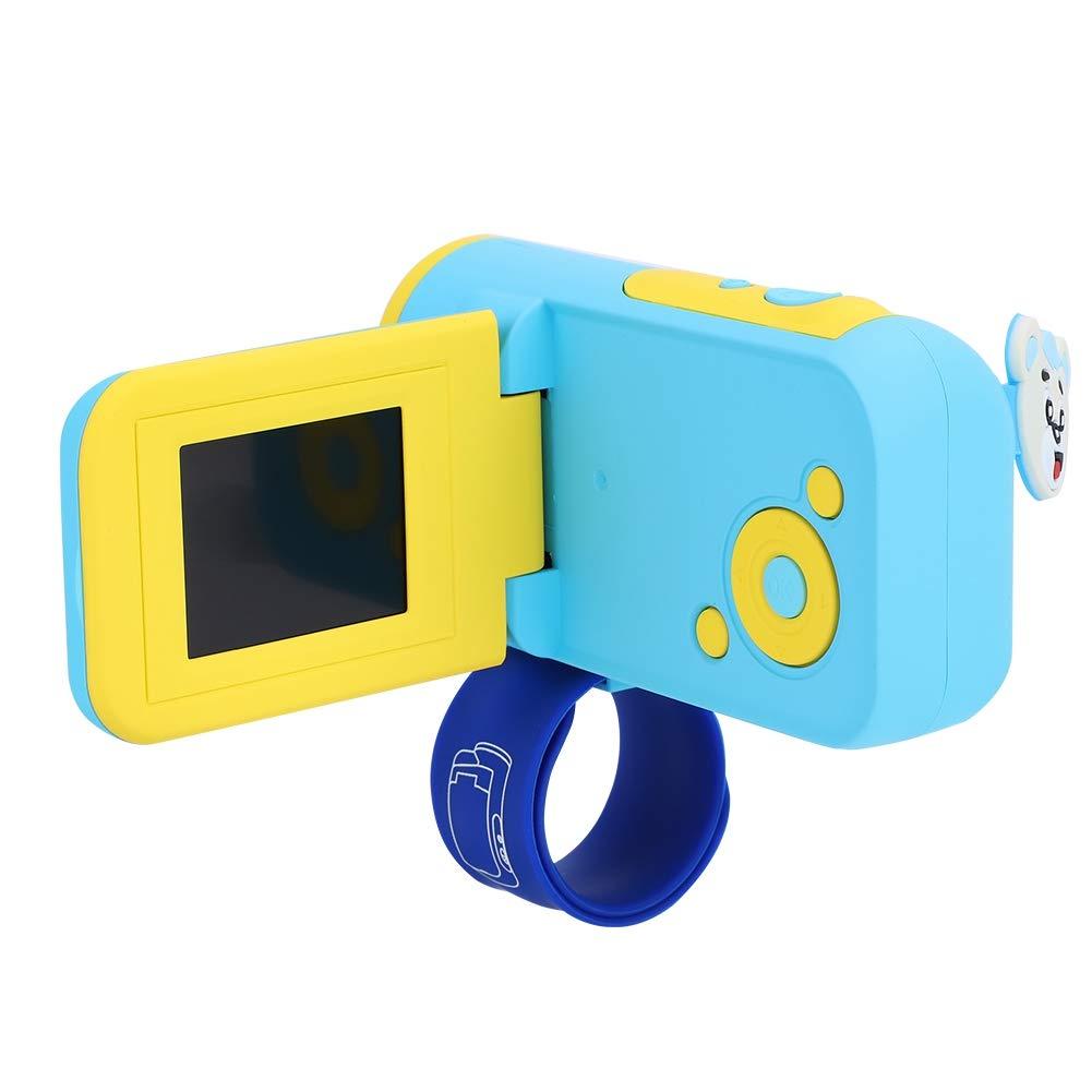 fosa ミニ キッズ デジタル ビデオカメラ プラスチック ポータブル キュート 子供 キッズ 男の子 女の子 デジタル LSR カメラ 素晴らしいギフト, fosaywvbm38h7f-01 B07H85Y9VR ブルー