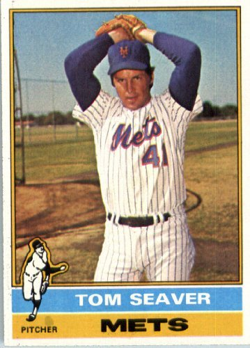 1976 Topps 600 Tom Seaver New York Mets Baseball Card At