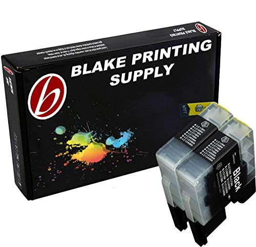 Blake Printing Supply © 2 Pack Compatible Ink Cartridge Replacements for  Brother LC-71 , LC-75 2 Black for use with Brother MFC-J280W, MFC-J425W, MFC-J430W, MFC-J435W, MFC-J5910DW, MFC-J625DW, MFC-J6510DW, MFC-J6710DW, MFC-J6910DW, MFC-J825DW, MFC-J835DW. Ink Cartridges for inkjet printers. LC-1240BK ()