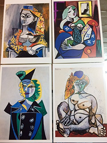 Ediciones Blok Set - 6Lot Pablo Picasso postales -Postcards-Carte Postale-Postkarte. New. Lote.