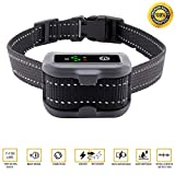 [2018 UPGRADED]Aarza No Bark Dog Collar with Dual Anti-Barking Modes - USB Rechargeable Battery - With Beep, Vibration, Harmless Shock Training Modes - For XS/Small/Medium/Large Dogs – IP67 Waterproof
