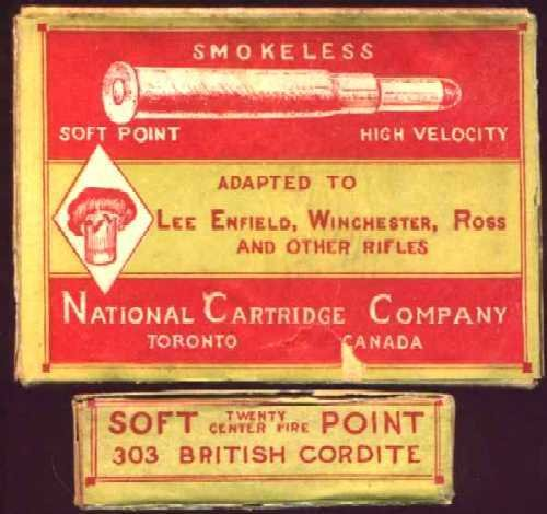 Reproduction of Vintage Ammo Box for Lee Enfield, Winchester, Ross and Other Rifles on 5