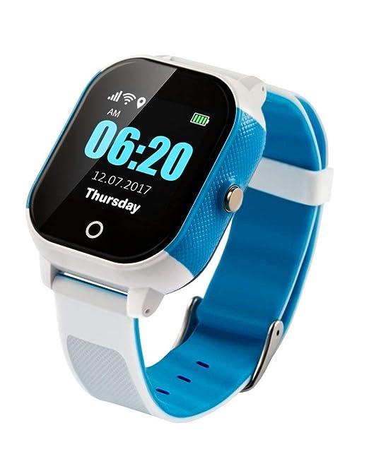 Bestie 4G Kids - Reloj inteligente para niños, con rastreador GPS, funciona con cualquier tarjeta SIM EE libre, sin contrato