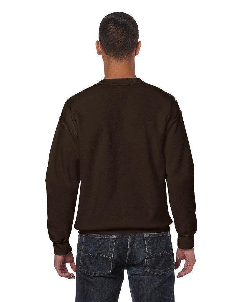 Gildan Heavy Blend/™ Adult Crew Neck SweatShirt Dark Chocolate M