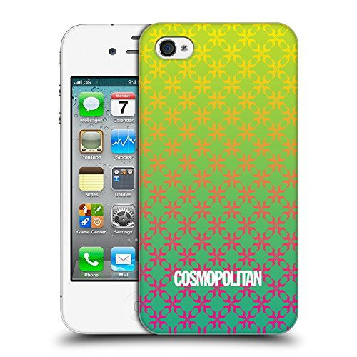 Official Cosmopolitan Ombre 4 Fun Summer Hard Back Case for Apple iPhone 4 / 4S