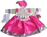 Korean Hanboks girls DOLBOK 1st birthday traditional costumes hb062/1