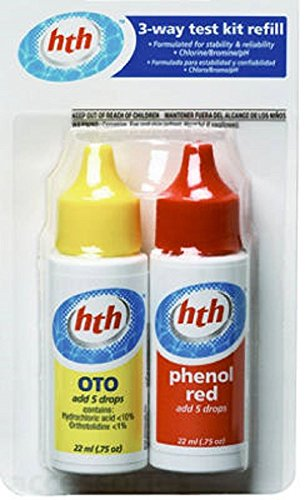 Hth swimming pool 3 way oto refill buy online in uae - Hth swimming pool test kit instructions ...