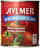 Best Tomato Sauces - Aylmer Whole Tomatoes No Salt Added Review