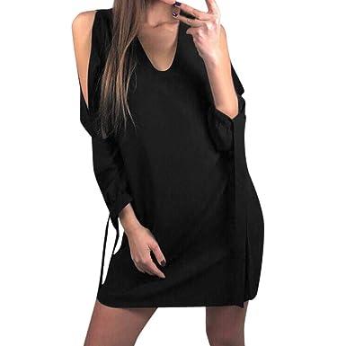 def00459e0d21 ♬ Femmes Mini Robe Courte Mousseline D'été Bodycon Ethnique Robe de ...