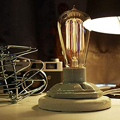 E27 Industrial Table Lamp By 24/7 Store
