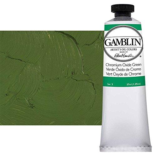 Gamblin Artist Oil 37Ml Chromium Oxide Green