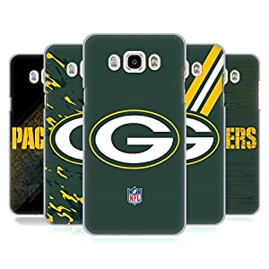 Official NFL Green Bay Packers Logo Hard Back Case for Samsung Galaxy J7 (2016) by Head Case Designs