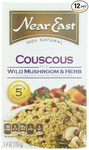 Near East Couscous Mix Wild Mushroom & Herb 5.4 Oz (Pack of 6)