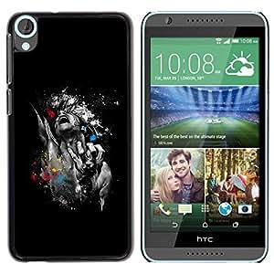 Be Good Phone Accessory // Dura Cáscara cubierta Protectora Caso Carcasa Funda de Protección para HTC Desire 820 // Abstract Art