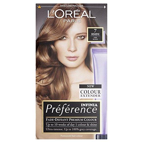Preference Infinia Hair Dye, 7 Rimini Dark Blonde