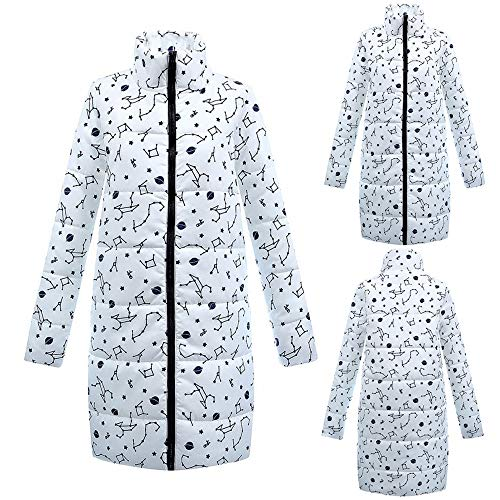 Mujer Botón Lino Ropa Y Ashop Chaquetas Mujer Blanco Invierno Algodón Elegante Abrigo Negro qwn4Ugtn