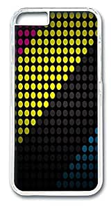 ACESR Circular Dots Nice iPhone Case PC Hard Case Back Cover for Apple iPhone 6 4.7inch