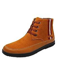 Men's Outdoor British Suede Warm High Top Boots