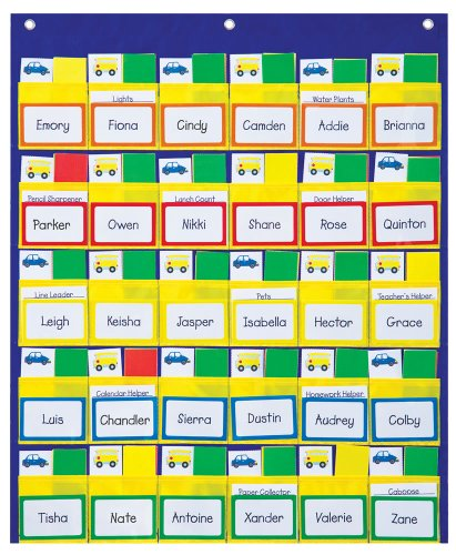 Carson Dellosa Classroom Management Pocket Chart (158040)]()