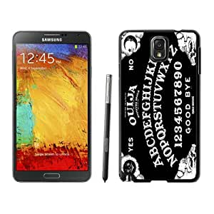 Popular Samsung Galaxy Note 3 Case ,Unique And Lovely Designed With White Ouija Board Black Samsung Galaxy Note 3 High Quality Cover