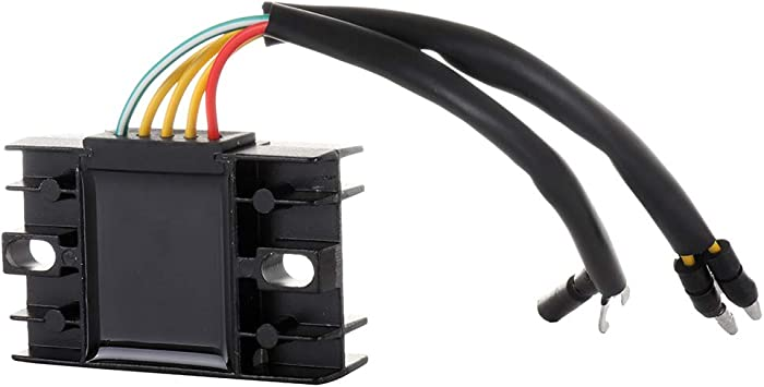 TUPARTS 32800-44040 Voltage Regulator Rectifier Replacement Rectifier Fit for 1978-1979 Suzuki GS1000 1980 Suzuki GS1000E 1980-1981 Suzuki GS1000G 1980-1981 Suzuki GS1000GL