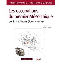 Recherches archéologiques, no 08: Occupations du premier Mésolithique des
