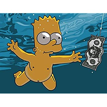 e7cb85b5e522e The Simpsons Homer Simpson Marge Simpson Bart Simpson Lisa Simpson Maggie  Simpson Funny Comedy TV Series Poster 12
