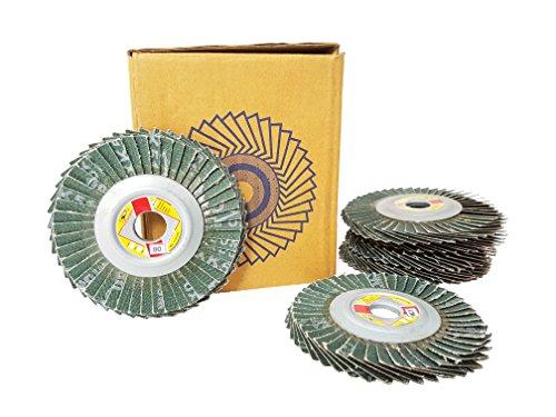 Prasertsteel Auto Body Sanding Flap Discs # 320 SQUIDHOOK - Back Soft ( 6 Pack )