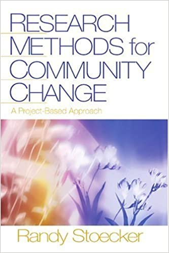 Book Research Methods for Community Change: A Project-Based Approach 1st edition by Stoecker, Randy R. (2005)