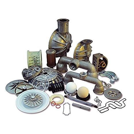 Nomad N02-9804-52 P2 Buna//Metallic Fluid End Kit Replaces Wilden 02-9804-52