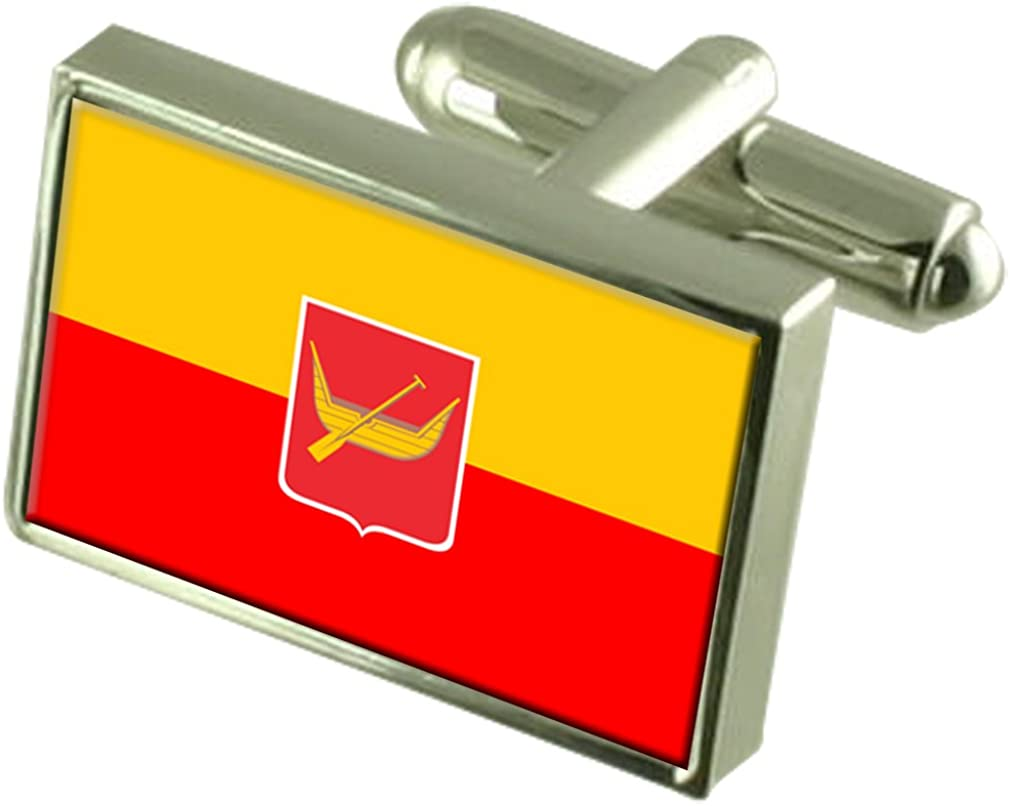 Select Gifts Lodz City Poland Flag Tie Clip