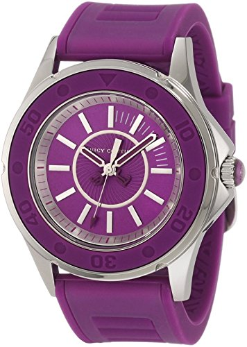 (Juicy Couture Women's 1900873 Rich Girl Purple Jelly Strap)