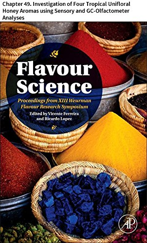 Flavour Science: Chapter 49. Investigation of Four Tropical Unifloral Honey Aromas using Sensory and GC-Olfactometer Analyses