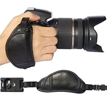 Black Single Shoulder Sling Belt Strap for Panasonic Lumix DMC-LZ30