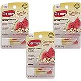 Carmex Comfort Care Lip Balm - Watermelon Blast - PACK OF 3