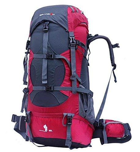 Outdoor uomini e donne spalla arrampicata borsa da viaggio impermeabile zaino grande capacità 80l viaggio zaino