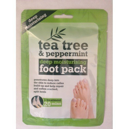 Tea Tree and Peppermint Deep Moisturising Foot Pack by Xpel Marketing 40049