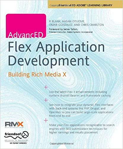 advanced flex application development building rich media x chris