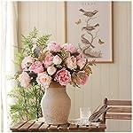 Simulation-11pcs-Peony-Flower-Arrangement-Silk-Flower-Fake-Flower-Decoration-Flower-Living-Room-Bouquet-Indoor-Table-Flower-Floral-Decoration