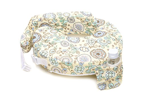 My Brest Friend Nursing Pillow, Slipcover Buttercup Bliss, Yellow, Green