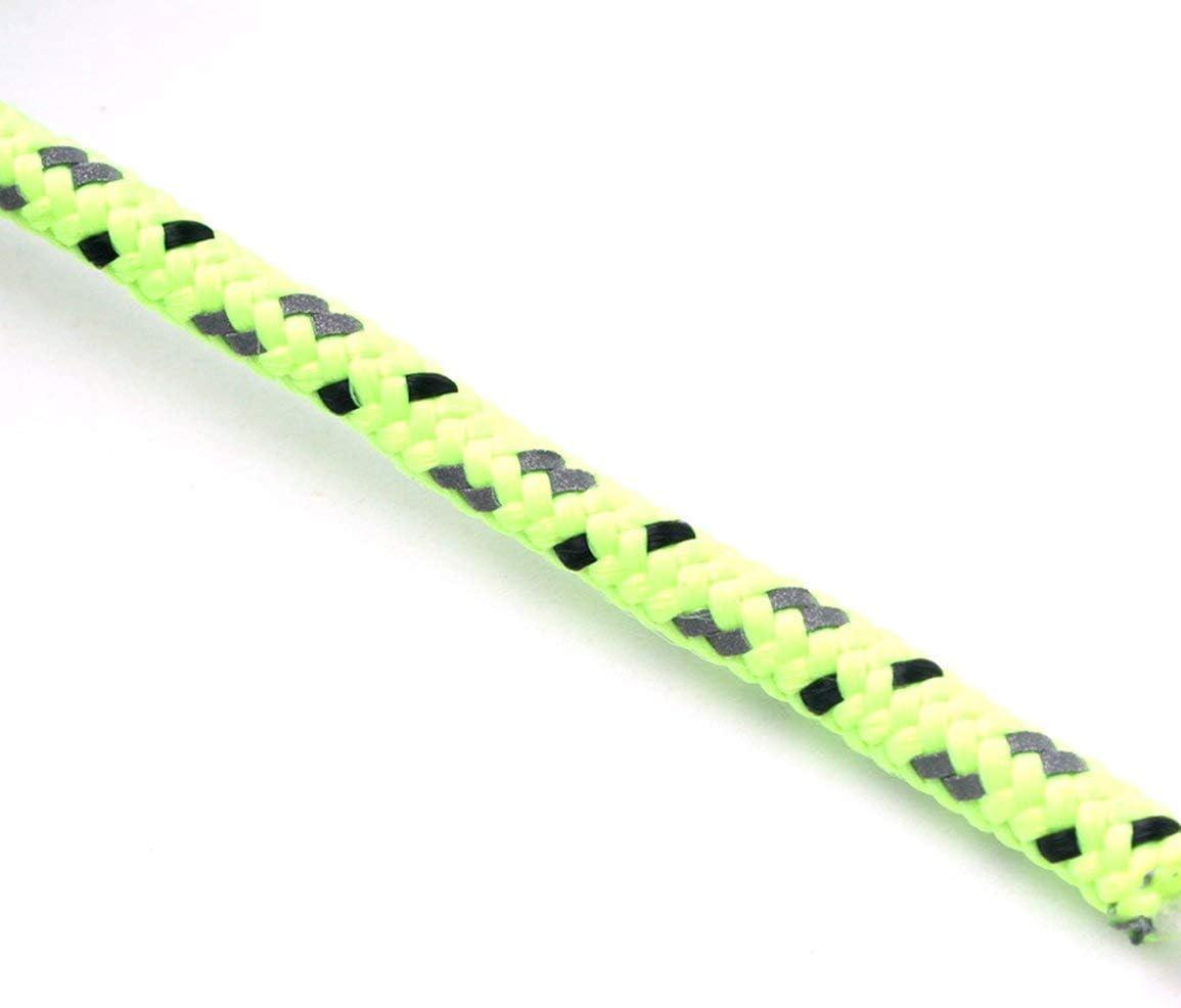 Cuerda de Tienda de 20 m Cuerda Reflectante Cuerda de Rescate de Seguridad para Acampar al Aire Libre de 2,5 mm de Espesor