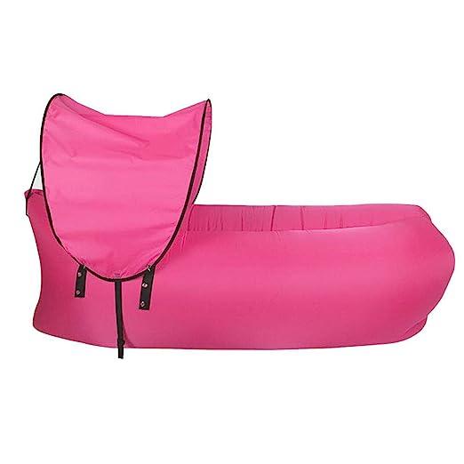 Rlorie Sofa Hinchable Camping Tumbona Hinchable De Playa con ...