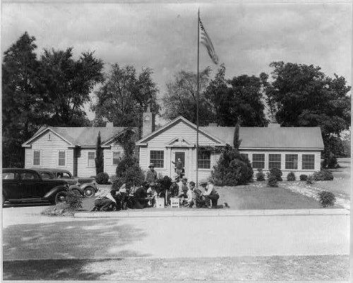 Photo: Forest Hills Hotel,Augusta,Georgia,GA,African Golf,African American Men,Motel